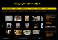 Изработка на сайт unitinterior.de