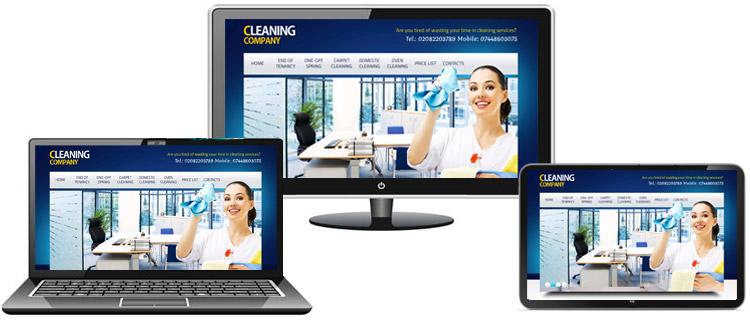 Изработване на сайт за почистване