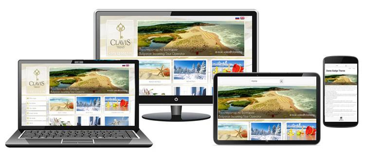 Изработка на сайт за туристически услуги
