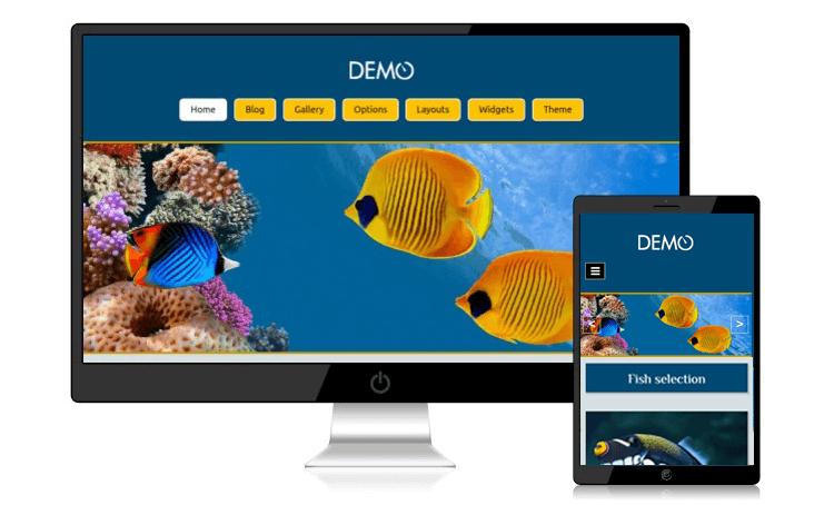 Безплатен сайт Aquarium