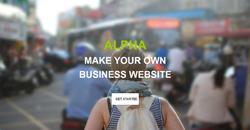 Сайт на една страница alpha