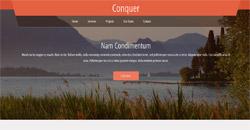 Сайт на една страница conquer
