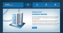 Сайт на една страница gloss