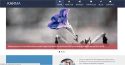 Сайт на една страница karma