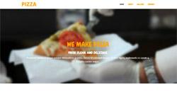 Сайт на една страница pizza