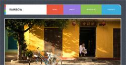 Сайт на една страница rainbow