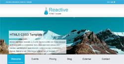Сайт на една страница reactive