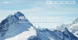 Сайт на една страница squad