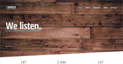 Сайт на една страница timber