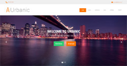 Сайт на една страница urbanic